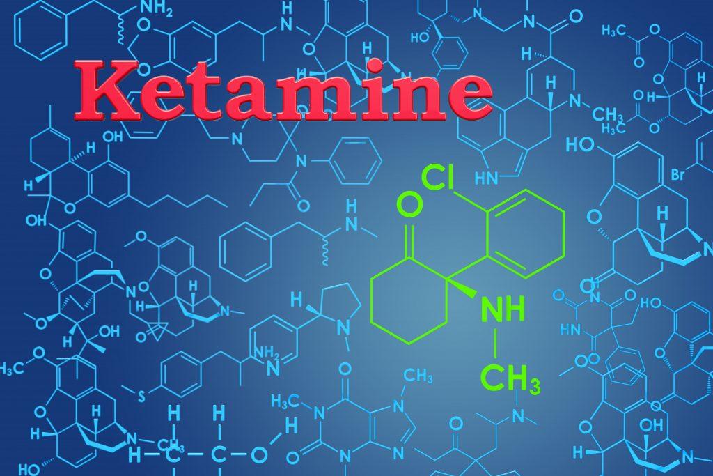 chemische Formel von Ketamin
